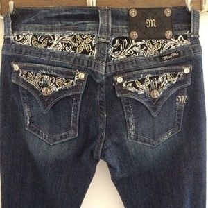 Miss Me Jeans Boot Cut Sz 27 Womens Jeans